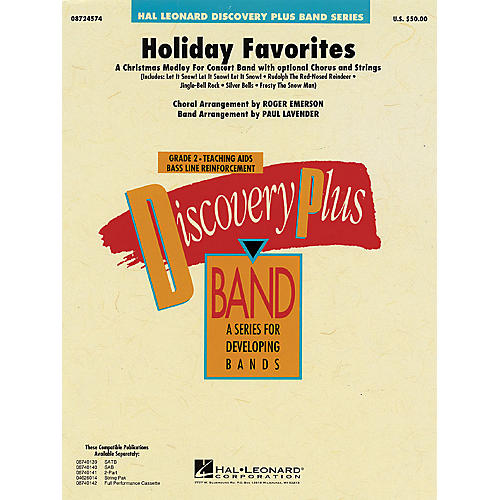 Hal Leonard Holiday Favorites - Discovery Plus Concert Band Series Level 2 arranged by Paul Lavender
