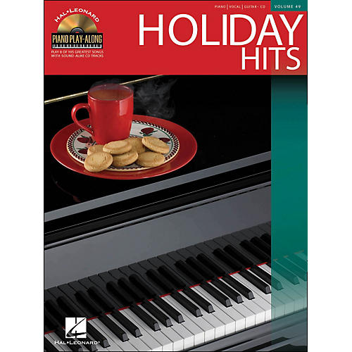 Hal Leonard Holiday Hits Volume 49 Book/CD Piano Play-Along arranged for piano, vocal, and guitar (P/V/G)