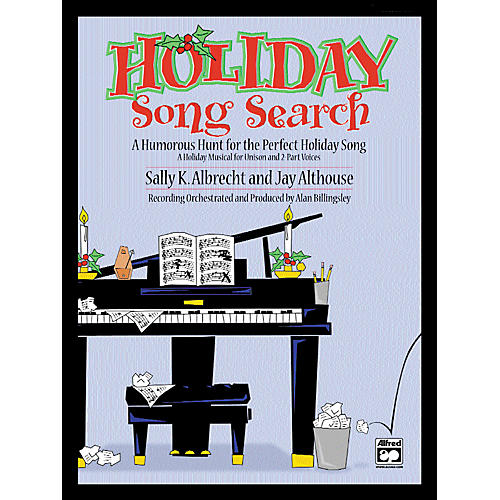 Alfred Holiday Song Search SoundTrax CD
