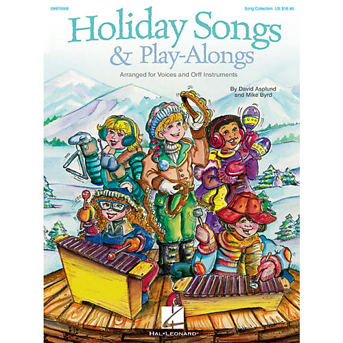 Hal Leonard Holiday Songs & Play-Alongs Song Collection For Voice and Orff-thumbnail