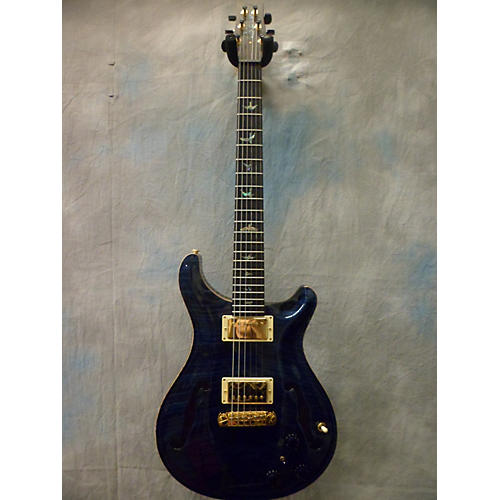 PRS Hollowbody II Artist Pack Hollow Body Electric Guitar Whale Blue