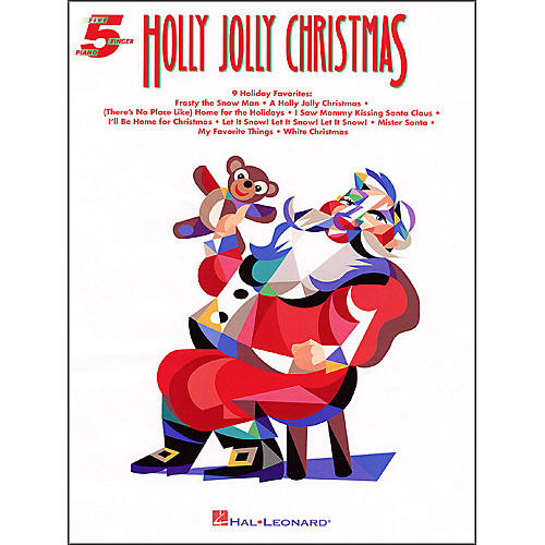 Hal Leonard Holly Jolly Christmas for Five Finger Piano