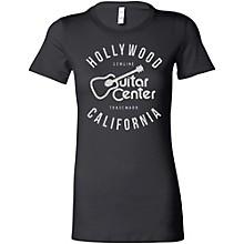 Guitar Center Hollywood CA Ladies Logo T-Shirt