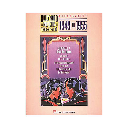 Hal Leonard Hollywood Musicals Year by Year - 1949 to 1955 Piano/Vocal/Guitar Songbook-thumbnail