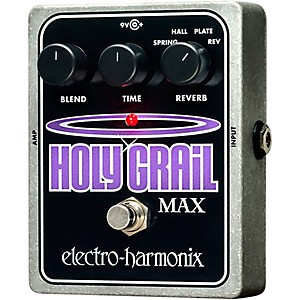 Electro-Harmonix Holy Grail Max Guitar Effects Pedal by Electro Harmonix