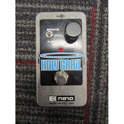 Electro-Harmonix Holy Grail Nano Reverb Effect Pedal-thumbnail