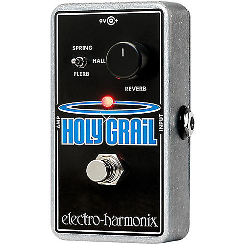 electro harmonix holy grail nano reverb guitar effects pedal guitar center. Black Bedroom Furniture Sets. Home Design Ideas
