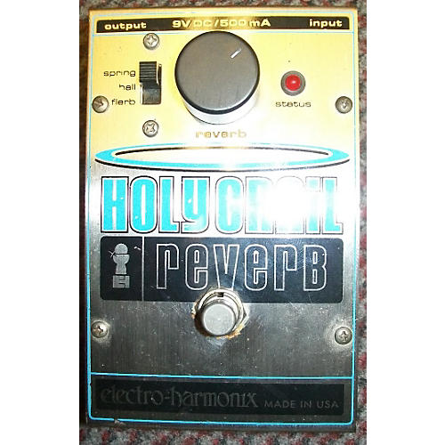 Electro-Harmonix Holy Grail Reverb Chrome Effect Pedal