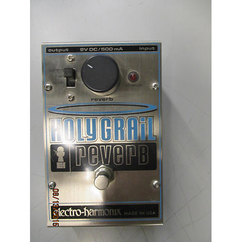 Electro-Harmonix Holy Grail Reverb Silver Effect Pedal