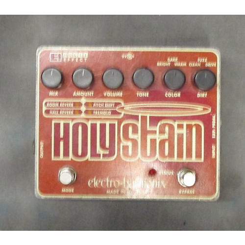 Electro-Harmonix Holy Stain Distortion Reverb Effect Processor-thumbnail