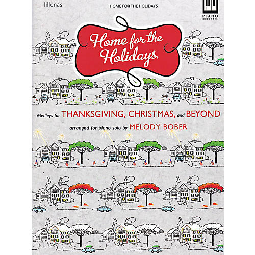 Hal Leonard Home For The Holidays - Medleys For Thanksgiving, Christmas & Beyond-thumbnail