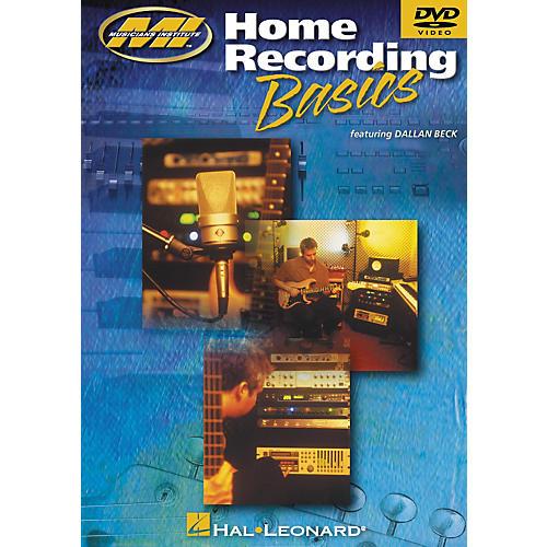 Musicians Institute Home Recording Basics (DVD)-thumbnail