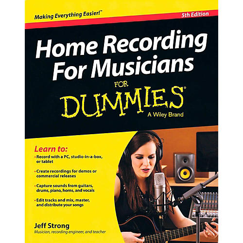 Hal Leonard Home Recording For Musicians For Dummies 5th Edition-thumbnail