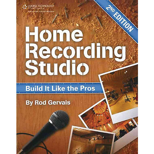 Course Technology PTR Home Recording Studio Build It Like The Pros Book-thumbnail