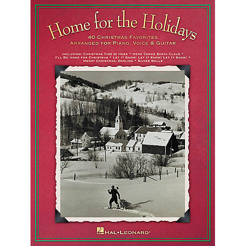 Hal Leonard Home for the Holidays Piano, Vocal, Guitar Songbook-thumbnail