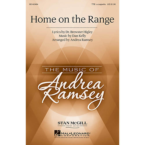 Hal Leonard Home on the Range TTB A Cappella arranged by Andrea Ramsey