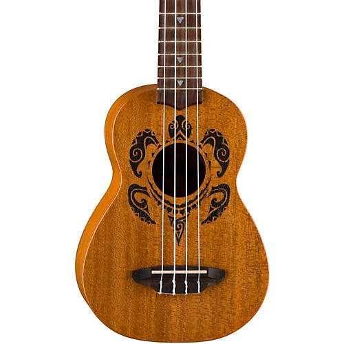 Luna guitars honu soprano ukulele mahogany guitar center for Decoration ukulele