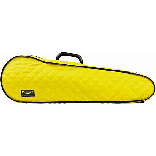 Bam Hoodies Cover for Hightech Violin Case Yellow