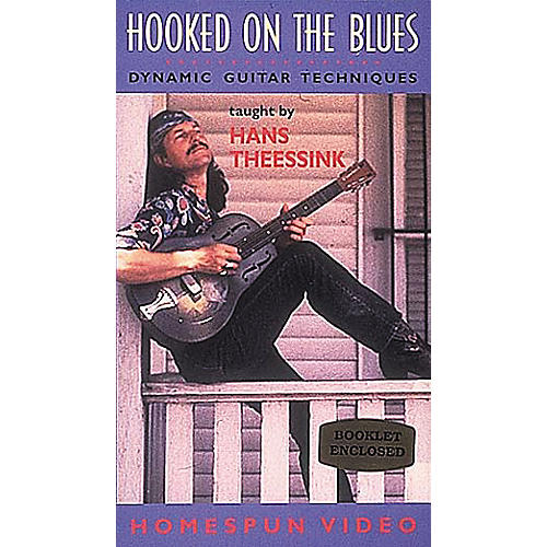Homespun Hooked on the Blues (VHS)-thumbnail