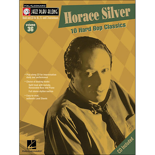 Hal Leonard Horace Silver Volume 36 Book/CD Jazz Play Along-thumbnail