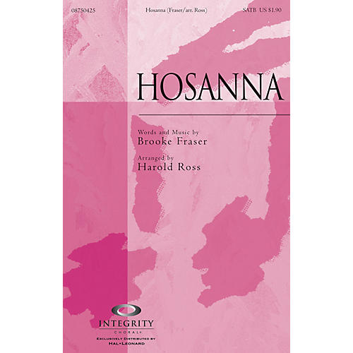 Integrity Choral Hosanna ORCHESTRA ACCOMPANIMENT Arranged by Harold Ross