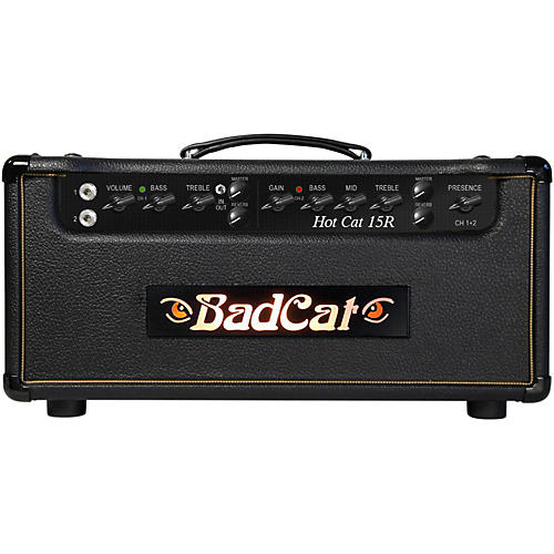 Bad Cat Hot Cat 15W Guitar Amp Head with Reverb-thumbnail