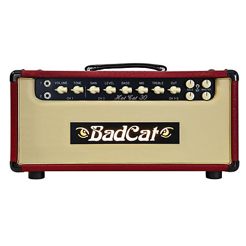 Bad Cat Hot Cat 30 30W Guitar Tube Head-thumbnail