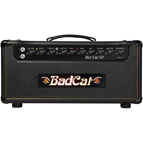 Bad Cat Hot Cat 50W Guitar Amp Head-thumbnail