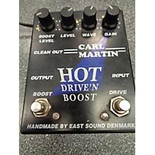 Carl Martin Hot Drive 'N Boost Effect Pedal