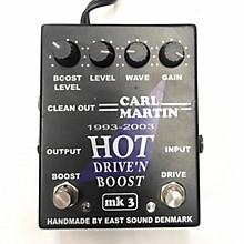 Carl Martin Hot Drive 'N Boost MKIII Effect Pedal