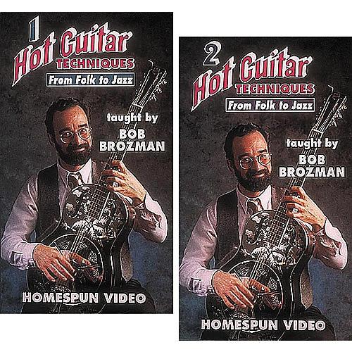 Homespun Hot Guitar Techniques 2-Video Set (VHS)