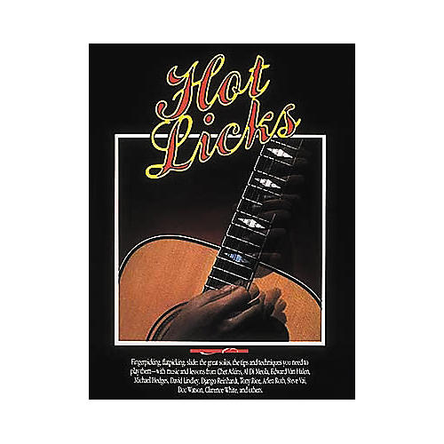 Hal Leonard Hot Licks Book
