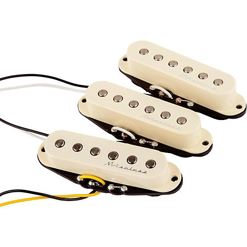 Fender Hot Noiseless 3 Pickup Set White