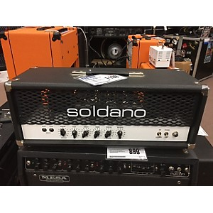 Pre-owned Soldano Hot Rod 50 50 Watt Tube Guitar Amp Head