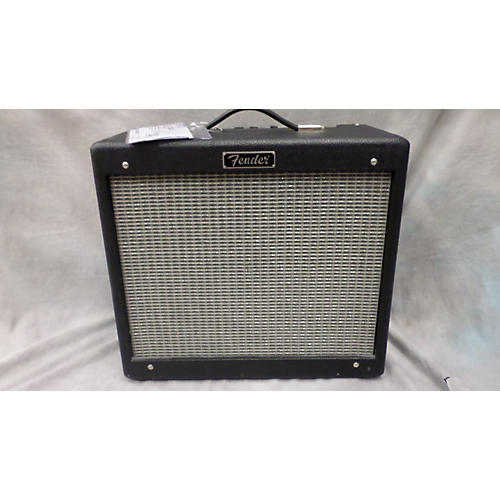 Fender Hot Rod Blues Junior III 15W 1x12 Black Tube Guitar Combo Amp
