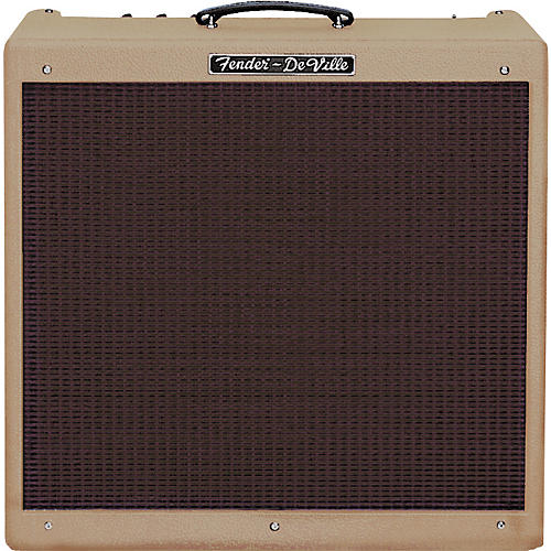 Fender Hot Rod DeVille 410 - Brown with Oxblood Grille-thumbnail
