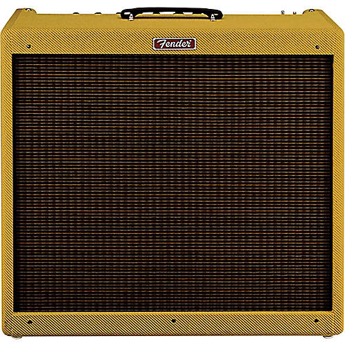 Fender Hot Rod DeVille III 60W Tweed 4x10 Tube Guitar Combo Amp-thumbnail