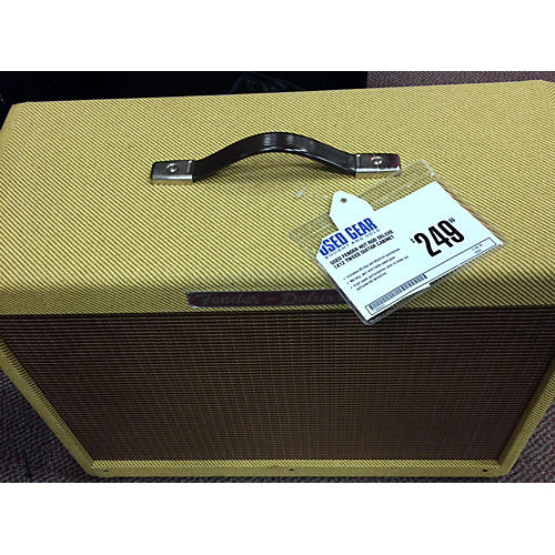 Fender Hot Rod Deluxe 1x12 Tweed Guitar Cabinet-thumbnail