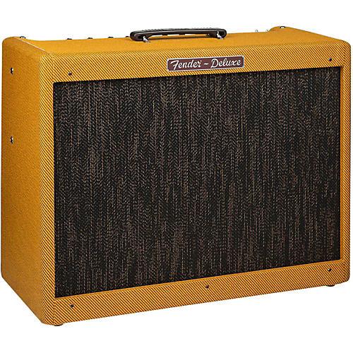 Fender Hot Rod Deluxe Lacquered Tweed, 40-Watt 1x12 Tube Guitar Combo Amplifier-thumbnail