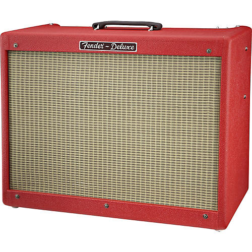 Fender Hot Rod Deluxe Texas Red 40W 1x12 Tube Guitar Combo Amp-thumbnail