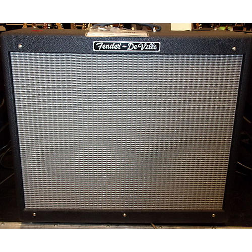 Fender Hot Rod Deville 60W 2X12 Black Tube Guitar Combo Amp-thumbnail