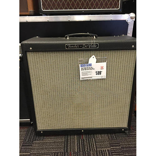 Fender Hot Rod Deville 60W 4X10 Black And Silver Tube Guitar Combo Amp-thumbnail