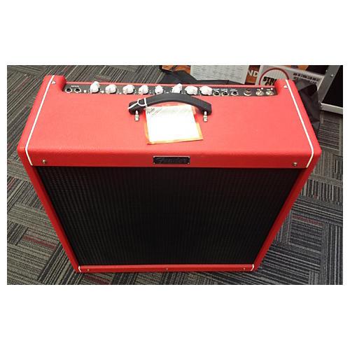 Fender Hot Rod Deville III 60W 4x10 Red October Ltd Ed Tube Guitar Combo Amp