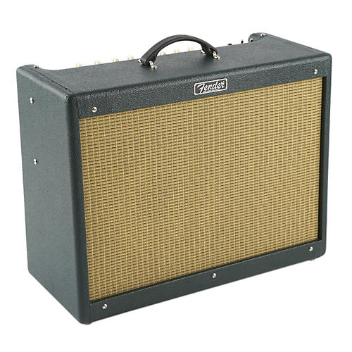 Fender Hot Rod III Deluxe 40W 1x12 Tube Guitar Combo Amp w/Emerald Isle Finish-thumbnail