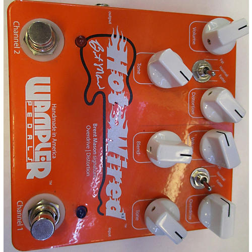 Wampler Hot Wired Brent Mason Effect Pedal