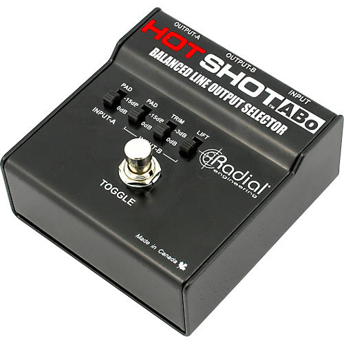 Radial Engineering HotShot ABO Line Output Selector