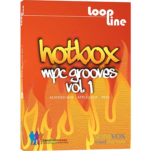 Sonivox Hotbox Vol. 1 - MPC Grooves Drum Loop Collection