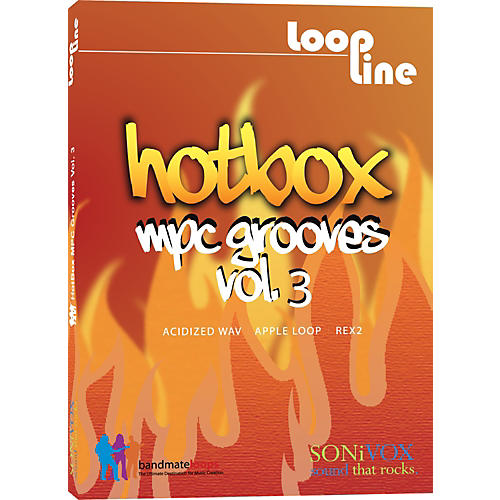 Sonivox Hotbox Vol. 3 - MPC Grooves Drum Loop Collection-thumbnail