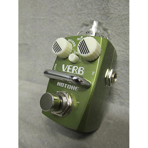 In Store Used Hotone Verb Effect Pedal