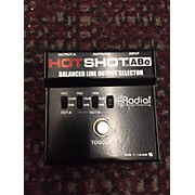 Radial Engineering Hotshot ABo BALANCED LINE OUTPUT SELECTOR Pedal